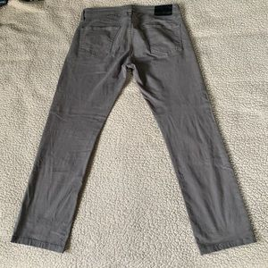 Ag Adriano Goldschmied Jeans - AG Adriano Goldschmied Gray Matchbox Slim Jeans GC